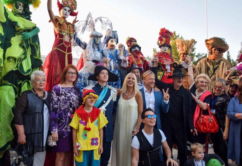 Евпатория принимает «Солнечный остров»! Фестиваль детского исемейного кино открыли всубботу