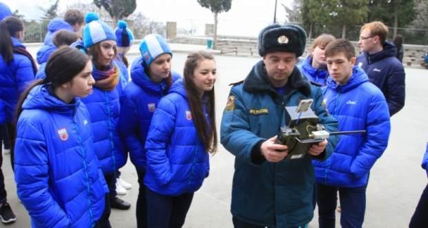 Очередной этап «Школы безопасности» от МЧС Крыма в «Артеке»