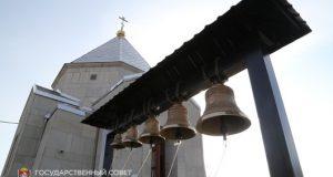 """На территории мемориала """"Концлагерь """"Красный"""" освятили престол храма-часовни"""