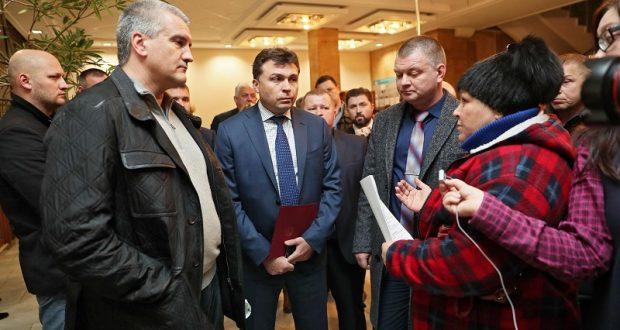 Глава Крыма Сергей Аксёнов проинспектировал Керчь