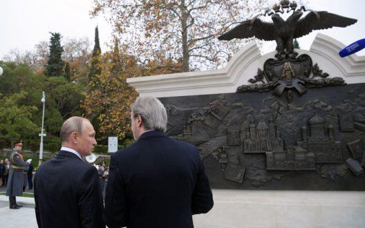 Британскому изданию «The Telegraph News» не понравился крымский памятник Александру Третьему