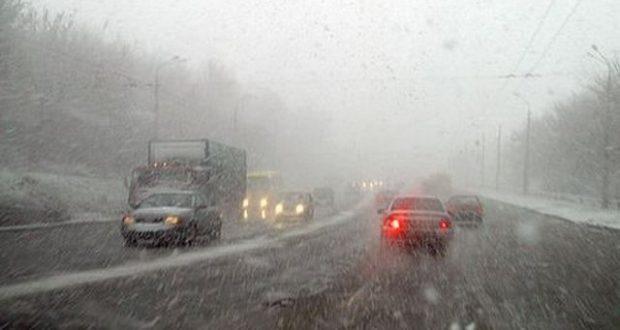 Завтра в Крыму похолодает и выпадет снег. Водители, будьте осторожны