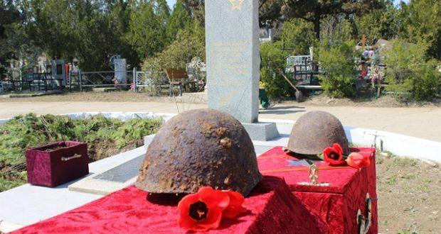 Останки 35 советских воинов будут торжественно перезахоронены в Феодосии