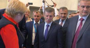 Вице-премьер РФ Козак: ФЦП развития Крыма и Севастополя продлят