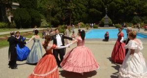 23 июня в Никитском ботаническом саду - исторический бал