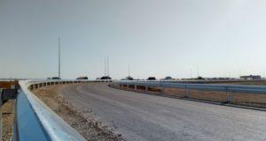 Вдоль трассы «Таврида» под Феодосией установлено барьерное ограждение