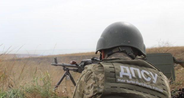 На побережье Азовского моря прошли учения украинских пограничников и военных