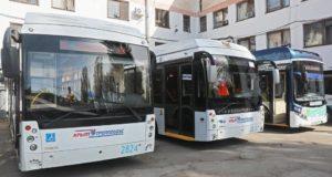 Каждый день крымские троллейбусы перевозят более 120 тысяч пассажиров