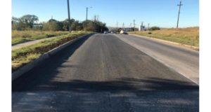 На Куль-Обинском шоссе в Керчи идёт ремонт