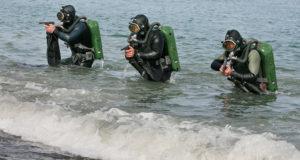 Подводный спецназ Черноморского флота предотвратил диверсию условного противника