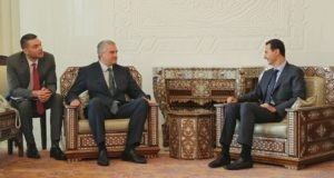 Сергей Аксёнов встретился с Президентом Сирийской Арабской Республики Башаром Асадом