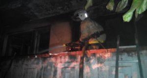 На пожаре в Бахчисарайском районе спасена женщина