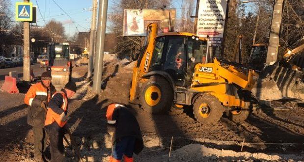Подрядчики отчитались о ходе капитального ремонта дорог Симферополя