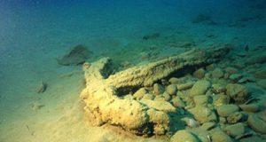 Якорь византийского рыболовецкого судна нашли у берегов Севастополя