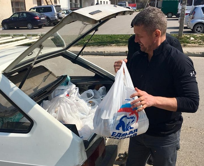 Севастопольский «Доброволец» провел очередной рейд «Продуктового обеспечения»