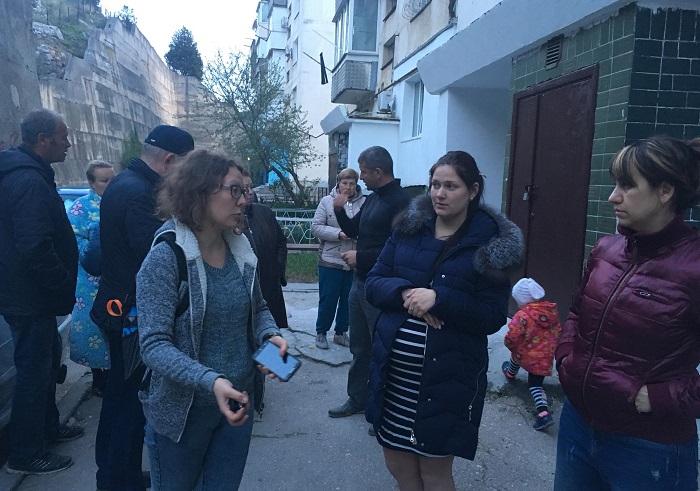 Очередной выездной прием балаклавского депутата, лидера ОД «Доброволец» Дмитрия Голикова