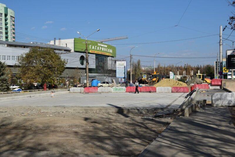 Когда в Симферополе откроют движение транспорта на улице Толстого